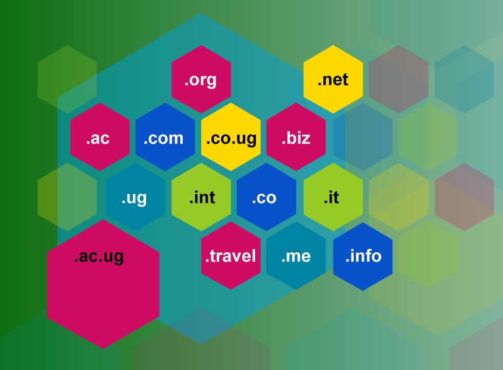 Domain registration and website hosting