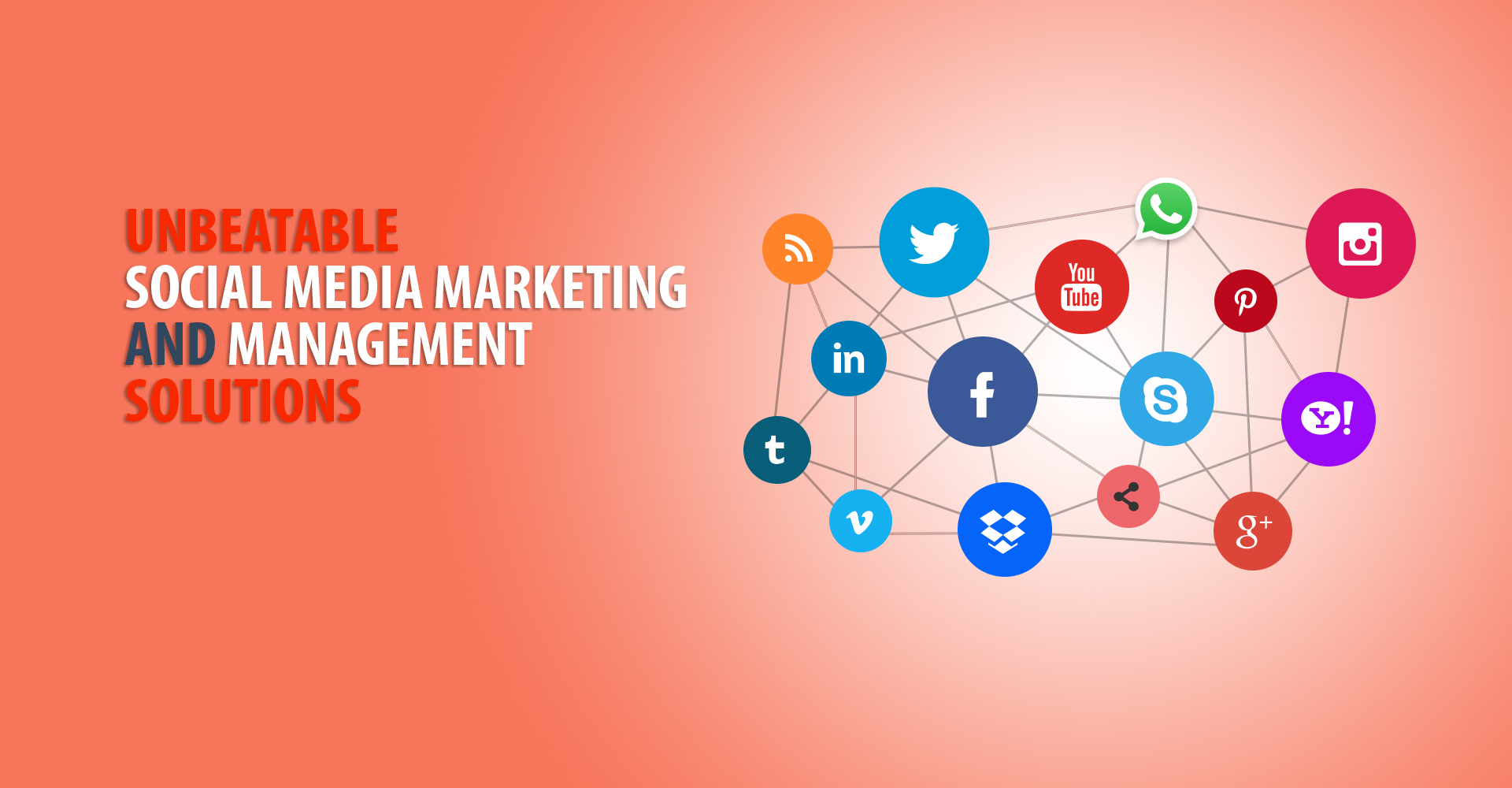 Unbeatable social media marketing and management