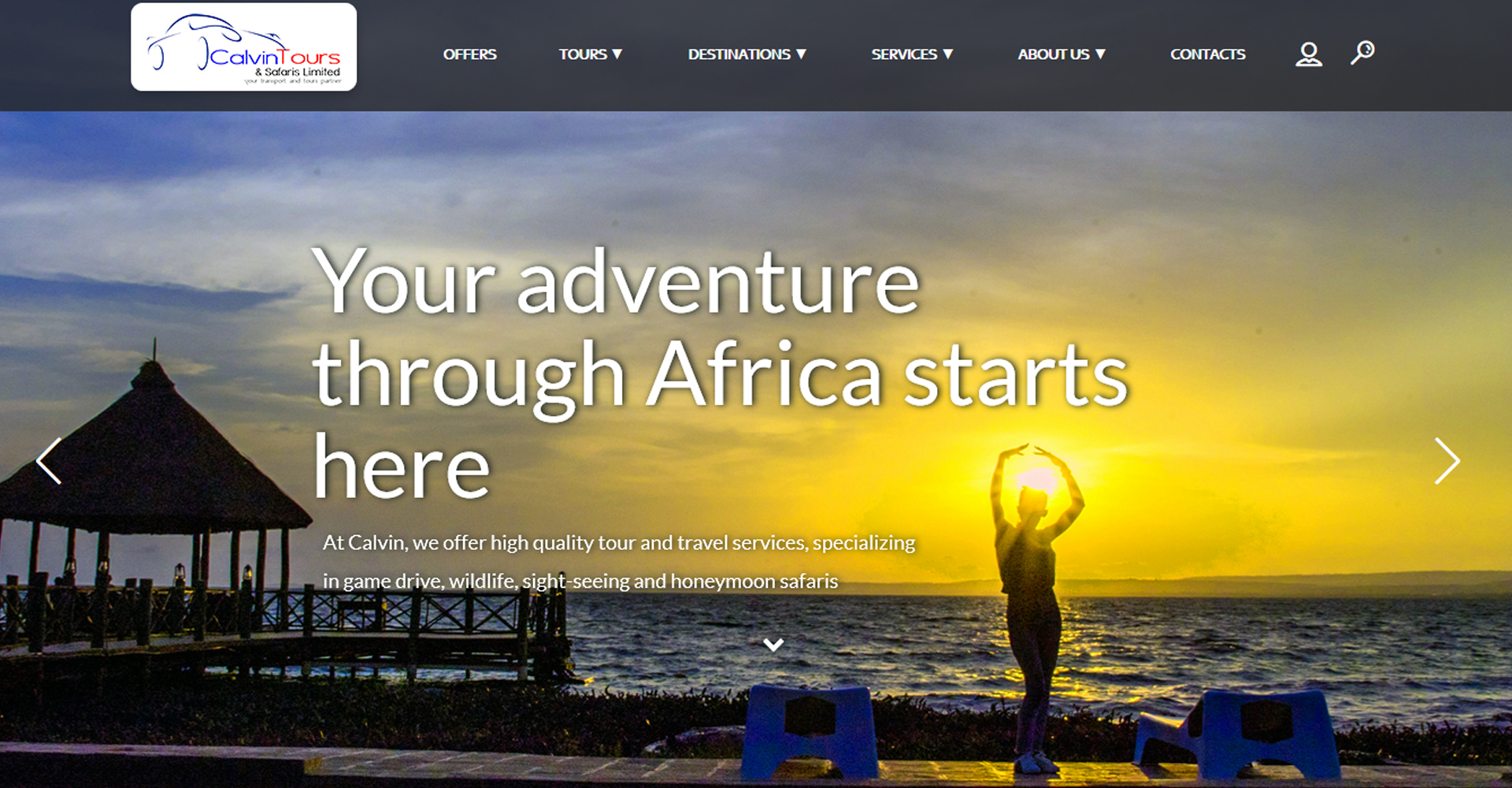 Calvin Tours, Kenya