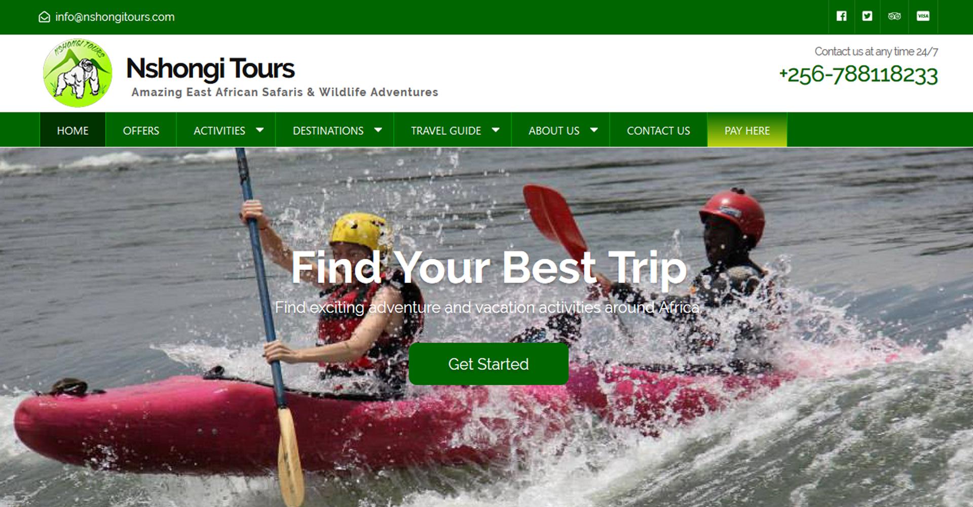 Nshongi Safari Tours and Travel